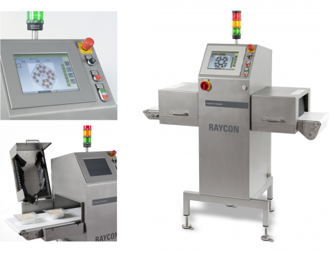 Rontgen productinspectie machine